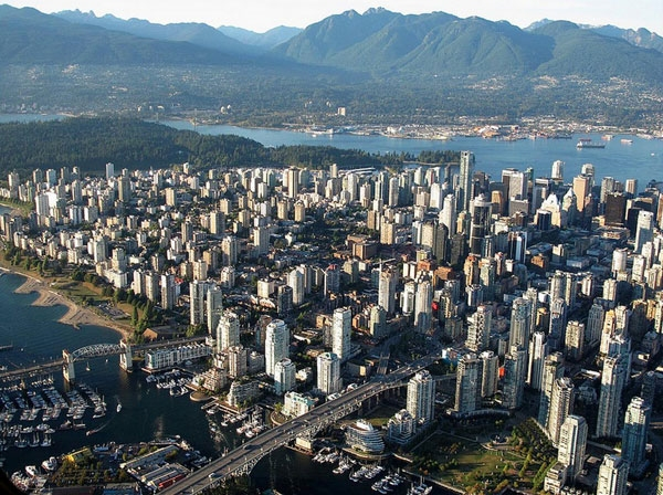 Vancouver Aerial Pic for SEO