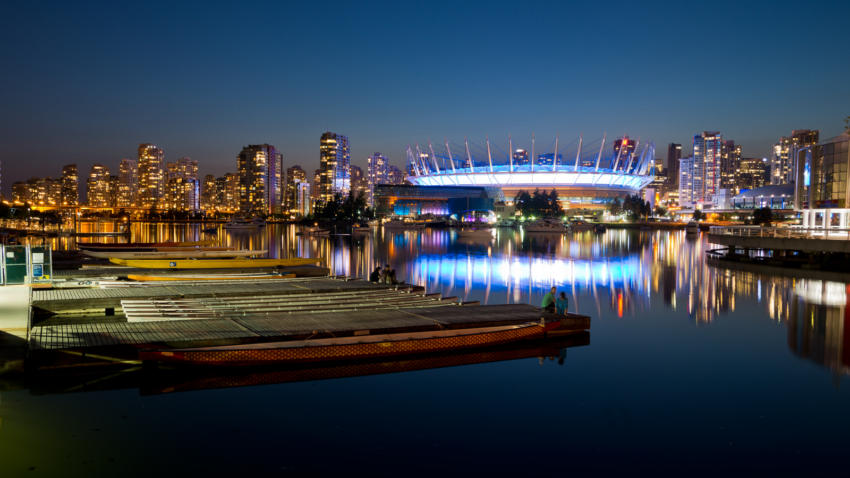 Vancouver at night SEO